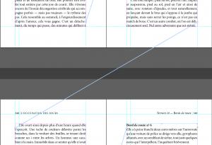 Selon cet exemple, le chaînage est appliqué correctement. Le texte sera exporté dans le bon ordre.