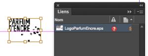 Les Images non liées ne peuvent pas être exportées adéquatement.