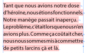 Lors d'une citation ou exergue, si chaque ligne contient un retour forcé, imaginez l'apparence de ce bout de texte dans votre ePub.